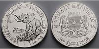 100 Shillings1 oz.Ø 39 mm 2016 Somalia Elefant 13. Ausgabe, 999er Silbe... 29,80 EUR  zzgl. 5,00 EUR Versand