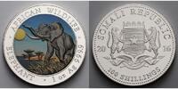 100 Shillings1 oz.Ø 39 mm 2016 Somalia Elefant 13. Ausgabe, 999er Silbe... 49,95 EUR  zzgl. 5,00 EUR Versand