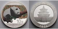 10 Yuan 2016 China China Panda, farbig  --  Dach in neutral, Bambus in ... 42,95 EUR  zzgl. 5,00 EUR Versand