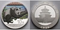 10 Yuan 2016 China China Panda, farbig  --  Dach in rot mit Zertifikat ... 42,95 EUR  zzgl. 5,00 EUR Versand