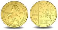 100 Euro 15,55g   fein  29 mm Ø 2016  Belg...