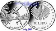 Deutschland 10 Euro Leichtathletik WM in Berlin,1. Ausg. in 2009,Buchst.nach unserer Wahl