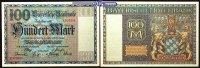 Bayern 100 000 Mark Bayerische Banknote, Grab. BAY 4