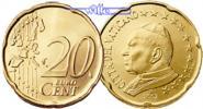 Vatikan 20 Cent Kursmünze, 20 Cent