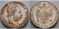 Österreich, Doppel Gulden Franz Josef I., 1848-1916