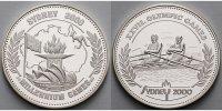 Deutschland 10,19g fein  30mm Ø Medaille in Silber XXVII. Olympic Games Sydney 2000 in Kapsel