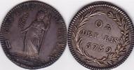 Frankreich Jeton Token Freimaurermedaille Silber Paris 1789 Loge des amis de la paix