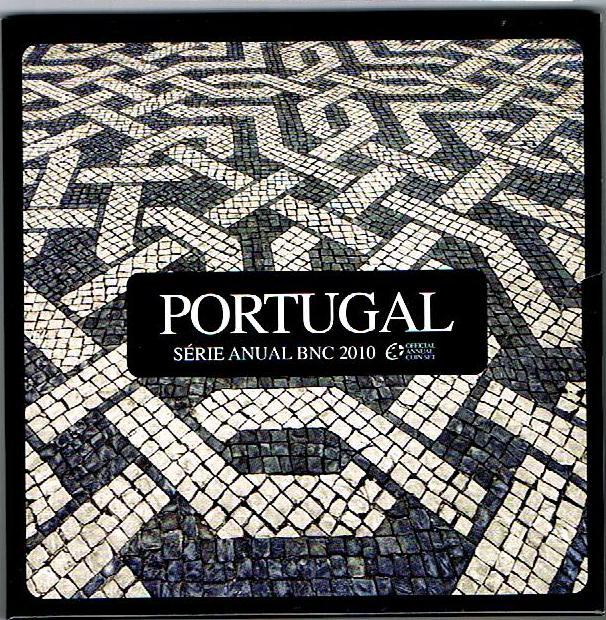 3,88€ 2010 Portugal Original Kursmünzensatz stgl