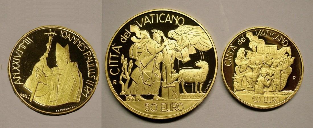 70,00€ 2002 Vatikan Altes Testament - Wurzeln des Glaubens PP