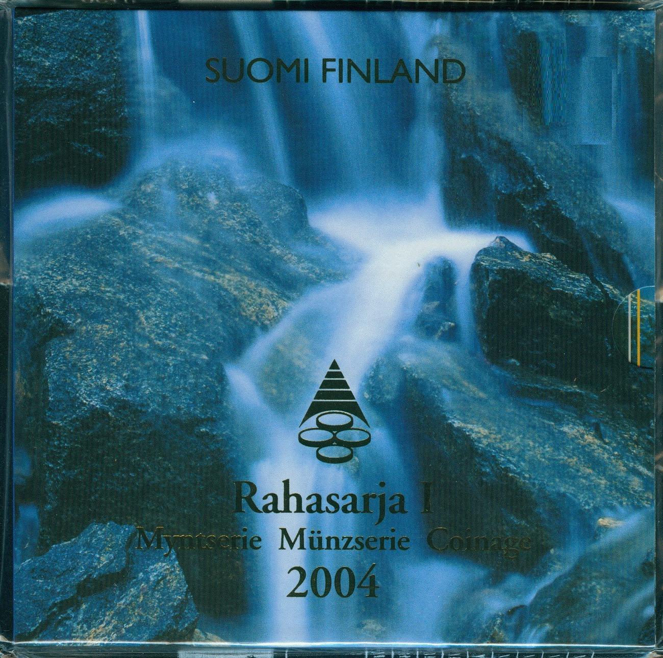 3,88€ 2004 Finnland Kursmünzensatz EU-Erweiterung stgl