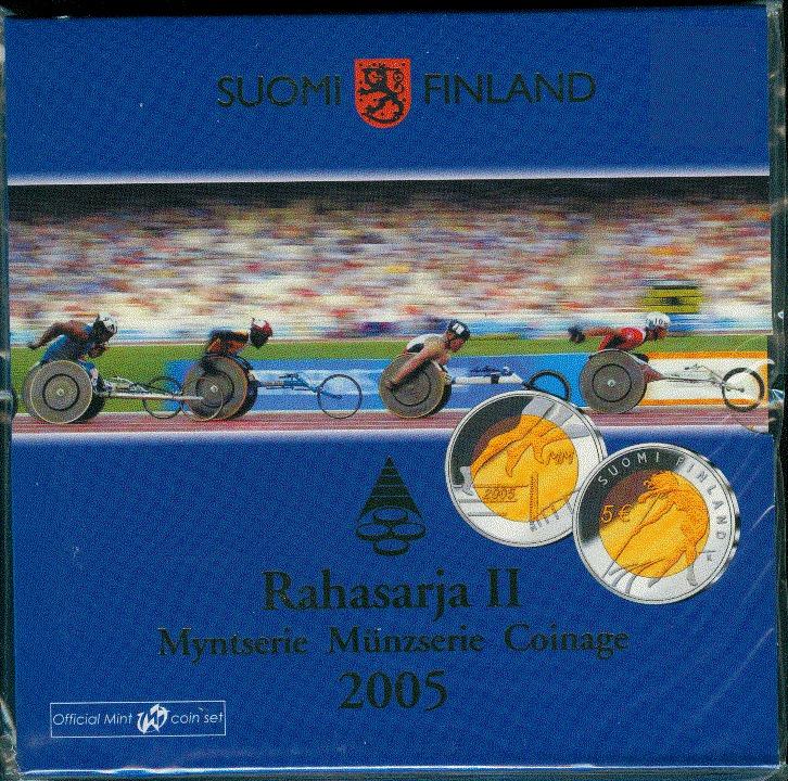 8,88€ 2005 Finnland stgl