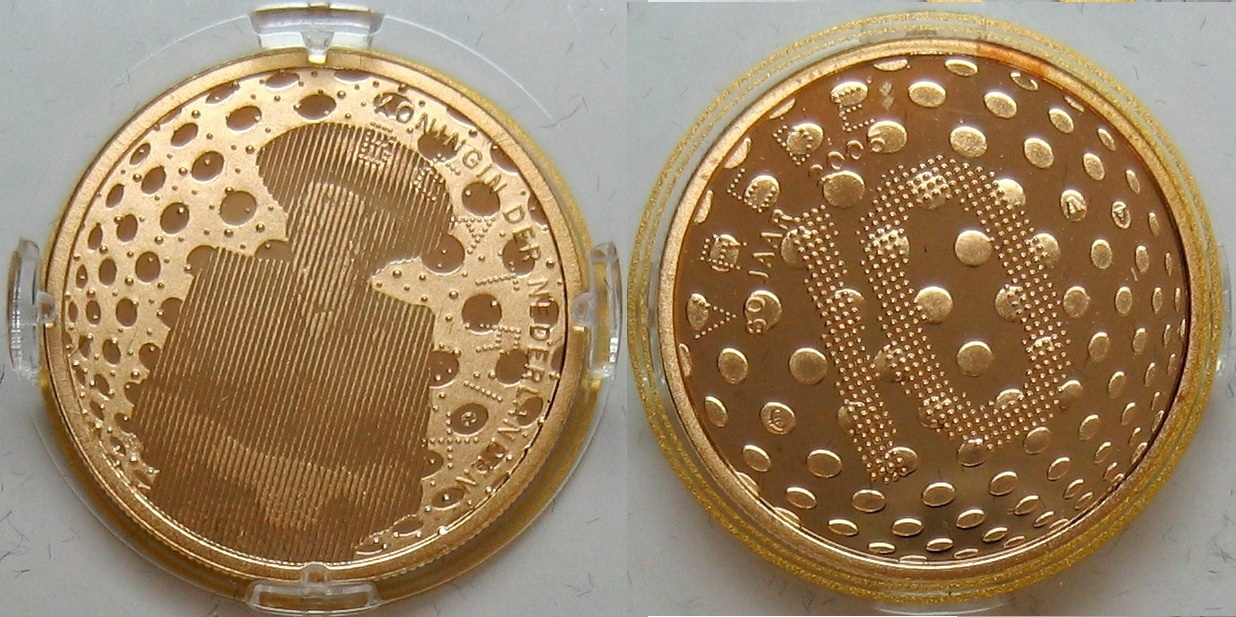 15€ 2005 Niederlande 5€ Silber + 10€ Gold 60 Jahre Frieden und Freiheit PP - Proof
