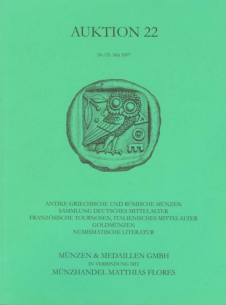 Auktionskatalog 2007 Münzen Medaillen Gmbh Münzen Medaillen Gmbh