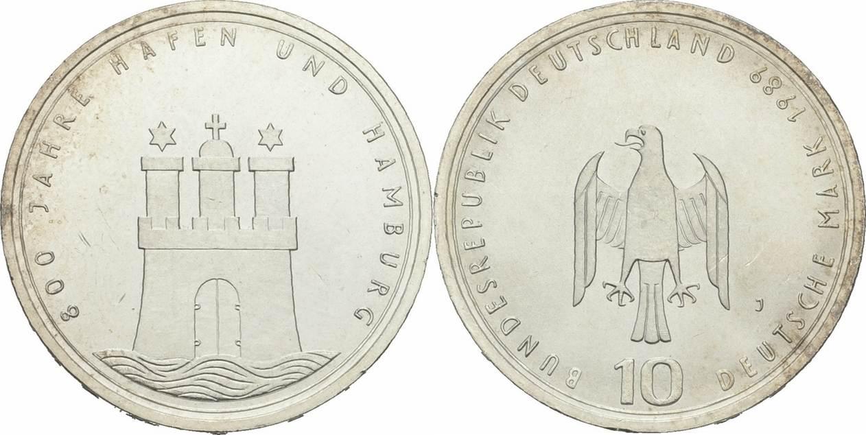 10 Deutsche Mark 1989 Deutschland Deutschland 10 Deutsche Mark 1989