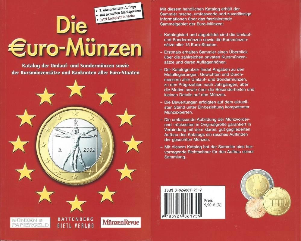 Münzkatalog 2003 Kahnt Sonntag Grabowski Die Uro Münzen Katalog