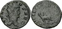 Rom Kaiserreich Antoninian Gallienus Antoninian Rom A.D. 267-278 LIBERO P CONS AVG / B Panther RIC V 230
