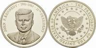 Deutschland Medaille GERMANY JOHN F. KENNEDY MEDAL UNC THE PRESIDENTS OF THE UNITED STATES OF AMERICA
