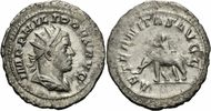 Rom Kaiserzeit Antoninian Philipp I Arabs Antoninian Rom AETERNITAS AVGG Elefant Mahut Elephant RIC 58