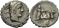 Denar 80 v. Chr. Rom Republik Procilius Denar Serratus Rom Juno Sospita... 110,00 EUR  zzgl. 5,00 EUR Versand