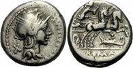 Denar 115/114 v. Chr. Rom Republik Cipius Denar Rom 115/114 v. Chr. Rom... 95,00 EUR  zzgl. 3,00 EUR Versand