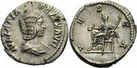 Denar 211-217 Rom Kaiserreich Julia Domna Denar Rom 211-217 Vesta Thron... 150,00 EUR  zzgl. 5,00 EUR Versand