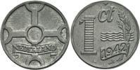 Niederlande 1 Cent Niederlande Königin Wilhelmina 1 Cent 1942 Zink Nederland Netherlands KM 170