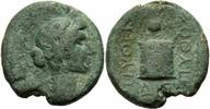 Phrygien Bronze Tiberius Laodikeia Phrygien Bronze Pythes Pythou Apollo Altar Isiskrone RPC 2909