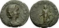 Rom Kaiserreich As Herennia Etruscilla As Rom 249-251 FECVNDITAS AVG SC Fecunditas Kind RIC 134b