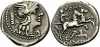 Denar 128 v. Chr. Rom Republik Domitius Ahenobarbus Denar Rom 128 Roma ... 180,00 EUR  zzgl. 5,00 EUR Versand