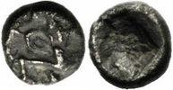 Persien 1/32 Siglos Achaimeniden Persien Dareios I. 510-486 1/32 Siglos Großkönig Incusum Klein 760