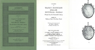 SOTHEBY´S Auktionskatalog SOTHEBY´S CATALOGUE OF HIGHLY IMPORTANT ENGLISH HISTORICAL MEDALS 17TH CENT 1977